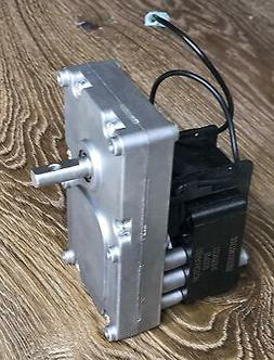 BOB's Pellet Stove Auger Gear Feed Motor 1RPM CW For Austrof