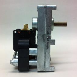 PEMS HM-RGM451 Pellet Stove Auger Gear Motor, 1 RPM, 0.51 Am