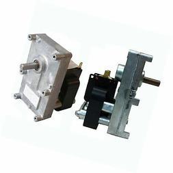 Pellet Stove Auger Gear Motor, 1 RPM, 115V, 0.19 amps