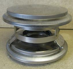 "DuraVent Pellet Stove Chimney Vent Model PV 3"" Vertical Cap"