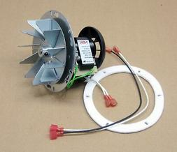 Pellet Stove Combustion Exhaust Fan Motor, Impeller and Gask