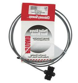 Rutland 3-Inch Pellet Stove/Dryer Vent Brush with 10-Feet Ha