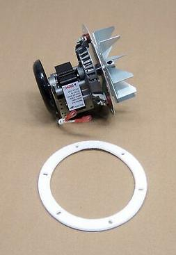 Pellet Stove Exhaust Blower Motor and Gasket for Quadrafire