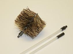 "Pellet Stove/Fireplace Vent Flue Cleaning Kit - 1- 3'"" Brush"