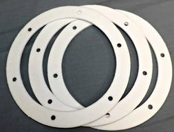 Pellet Stove Gasket 6in 3pc Combustion Fan Exhaust Blower Mo
