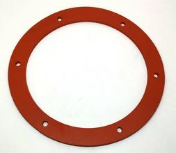 "Pellet Stove Gasket - Exhaust Combustion Fan Motor Seal 6"" S"