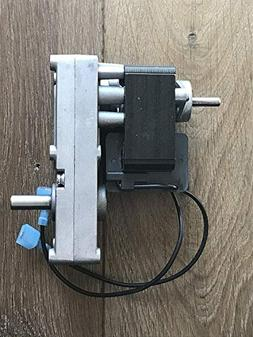 Pellet Stove Auger Gear Feed Motor, 4 RPM, 120V, 60Hz Counte