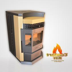 Pellet Stove Comfortbilt HP22-N Apricot 50000 btu w/80 lb Ho