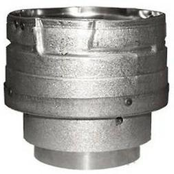 Pellet Stove Vent Pipe Adapter, 3 to 4-In.