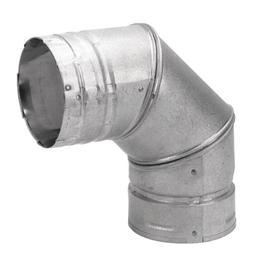 3-Inch Steel 90Degree Chimney Pellet Stove Fireplace Vent Pi