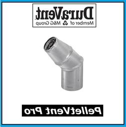 "DURAVENT PELLETVENT PRO Pipe 4"" Diameter Horizontal Cap #4PV"