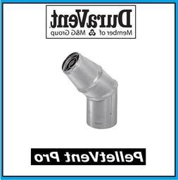 """DURAVENT PELLETVENT PRO Pipe 4"""" Diameter Horizontal Cap #4PV"""
