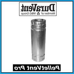 "DURAVENT PELLETVENT PRO Pipe Length 4"" Diameter x 6"" Long #4"