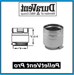 "DURAVENT PELLETVENT PRO Pipe 4"" Diameter Appliance Adapter #"