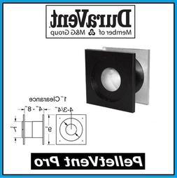 "DURAVENT PELLETVENT PRO Pipe 4"" Diameter Wall Thimble #4PVP-"