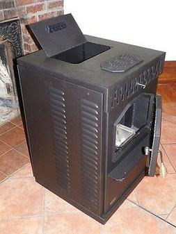 POWER-OUTAGE WOOD PELLET STOVE Model, AUTO SWITCHING 115VAC