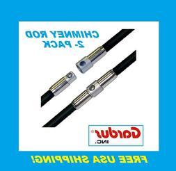 Gardus PRD308 SootEater Pellet Rod, 2-Pack