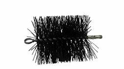 "Rutland PS-6 Round Brush, 1/4"" Npt Pellet Stove Brush, 6"""