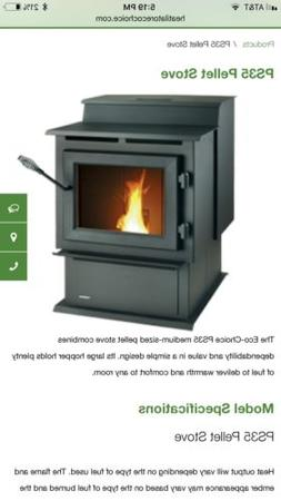 Heatilator PS35 Pellet Stove