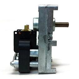 PEMS PV003 Pellet Stove Auger Motor | 120V, 0.51A, 1-RPM, Sp