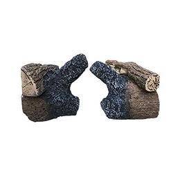 HHT QuadraFire Pellet Stove Log Set - for Castile & SantaFe