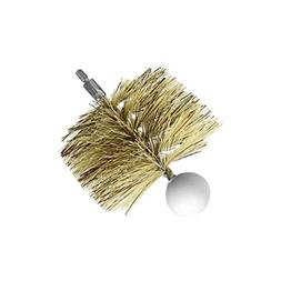 "SBI Heating Accessories 3"" Round Pellet Stove Brush"