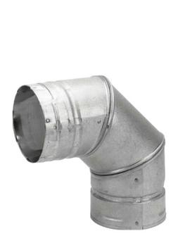 "Simpson Duravent Pellet Stove Vent Elbow Insulated 3 "" Dia."