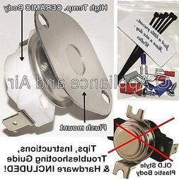 St.Croix 80P20038-R Proof of Fire Low Limit Fan Switch Pelle
