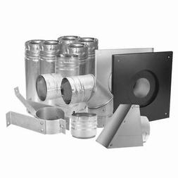 "Duravent 4"" Stainless Pellet Vent Kit"