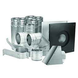 "Duravent 3"" Stainless Pellet Vent Kit"