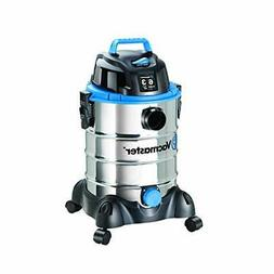 Vacmaster 6 gal Stainless Steel Wet & Dry Vacuum 7ft Hose 12