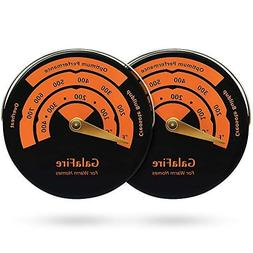 2PCS Stove Thermometer Magnetic Oven Thermometer Fireplace A
