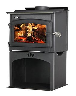 Vogelzang TR001WS Defender 1,200 Sq. Ft. Wood Stove with Sto