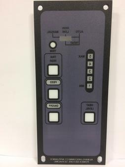 Breckwell Universal Faceplate Replacement 5 Level Pellet Sto