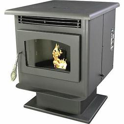 US Stove 5040 Small Pellet Stove, Black