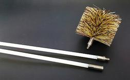 Vent Exhaust Flue Cleaning Kit Pellet Stove & Fireplace, 1-