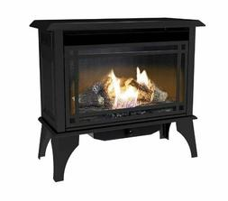 Vent Free Gas Stove Heater Propane Cast Iron Free Standing D