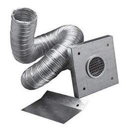 "Simpson Dura Vent 2"" X 10' Outside Air Kit Aluminum Flex Pip"